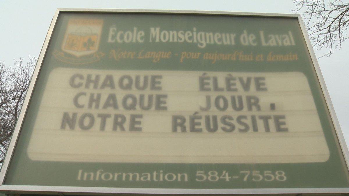 Ecole Monseigneur de Laval's primary school.