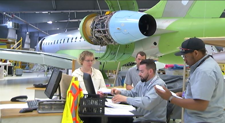 Flying Colours Corp. in Peterborough, Ont. is hiring approx. 50 people.