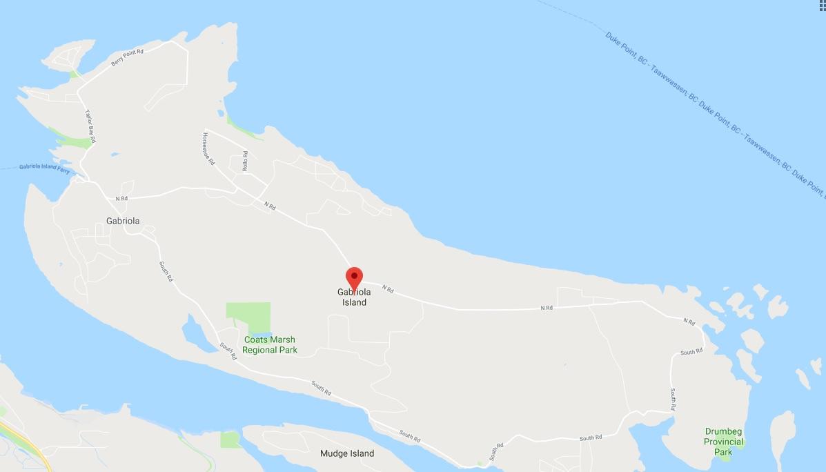 Gabriola Island.