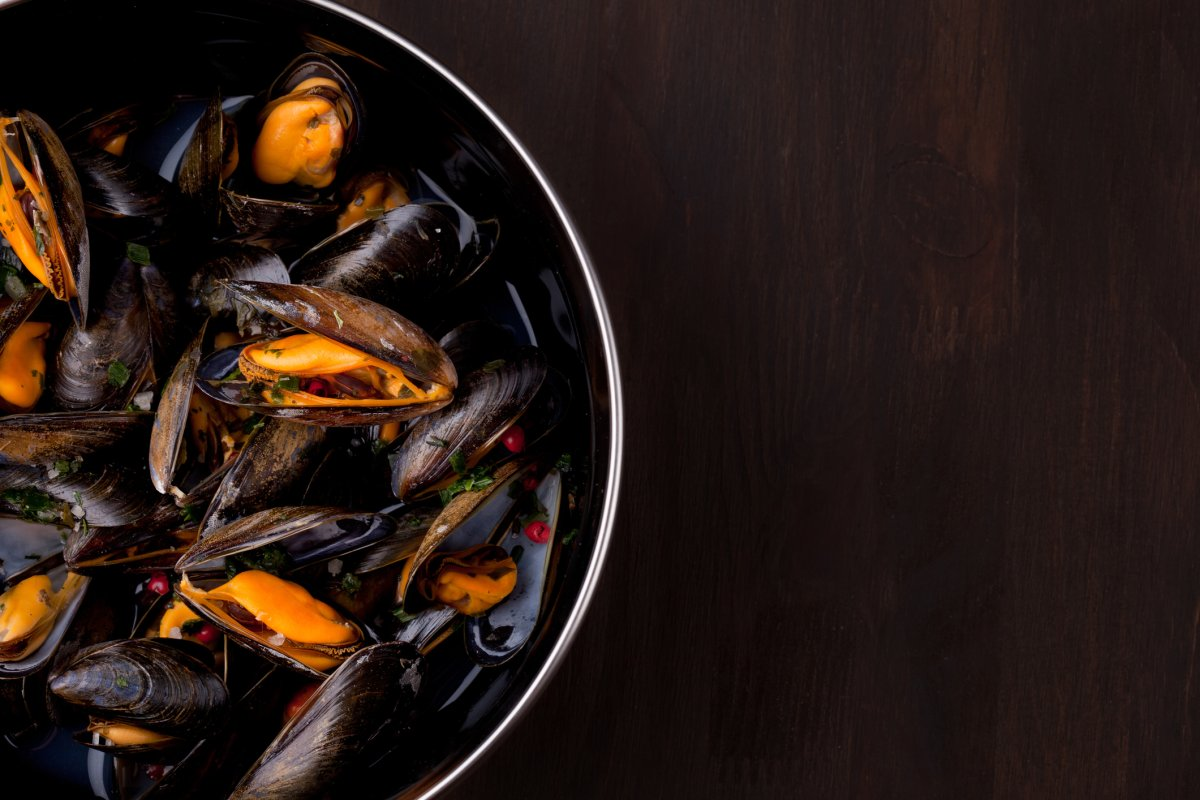 Researchers say mussels are filter feeders, meaning they absorb contaminants from the surrounding water into their tissue.