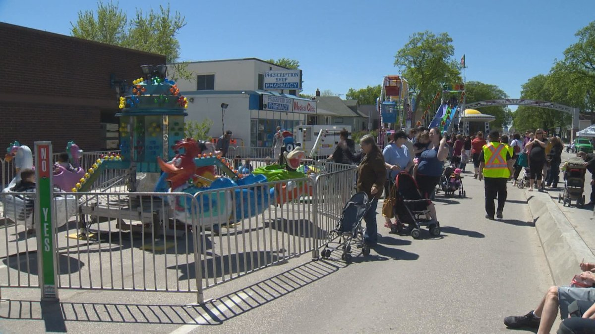 Several streets will be closed for the Transcona Hi-Neighbour Festival.