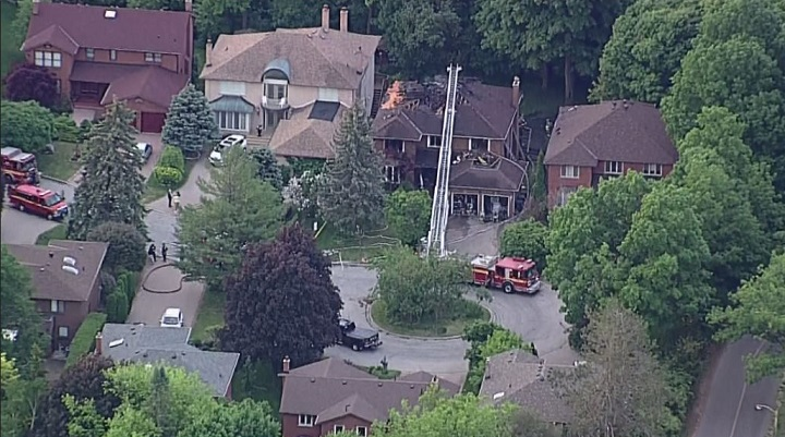 A house fire in Scarborough left one dead and three injured early Wednesday.