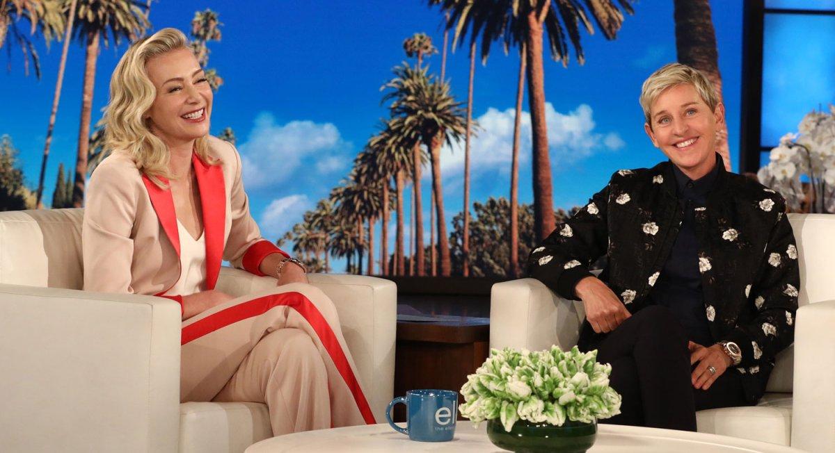 Portia De Rossi on 'The Ellen DeGeneres Show.'.