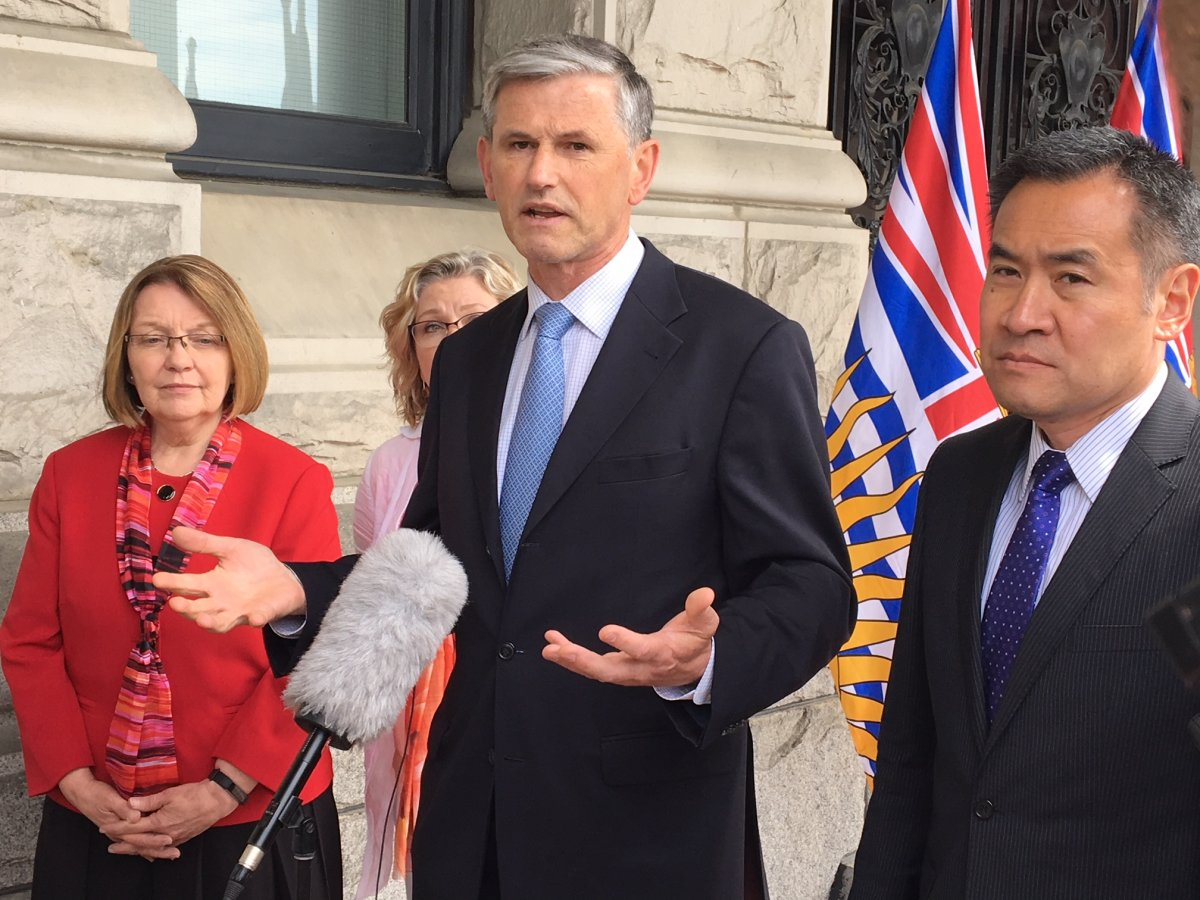 B.C. Liberal leader Andrew Wilkinson is calling for a judicial review into money laundering.