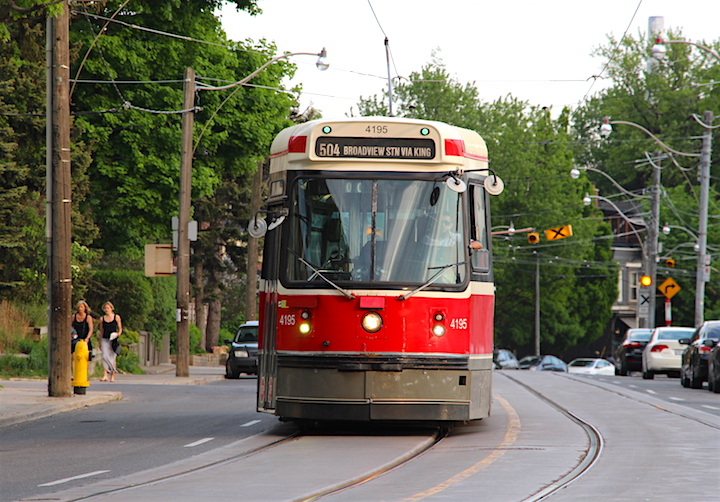 A new poll shows about two-thirds of transit users in Toronto are satisfied with the TTC.