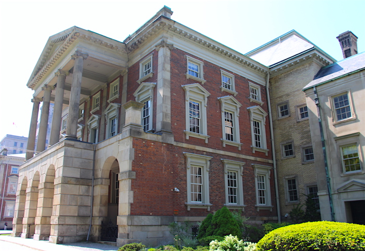 The exterior of Osgoode Hall in Toronto. The buildings house the Court of Appeal for Ontario and the Law Society of Ontario.