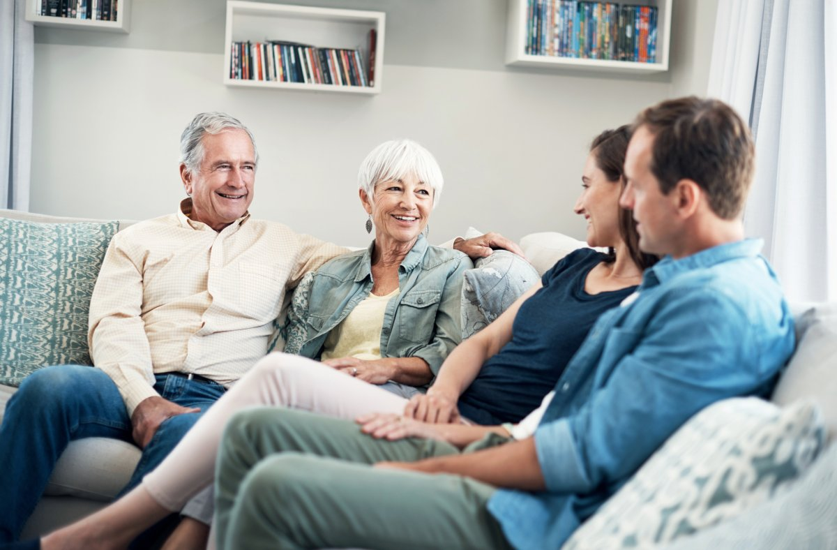 Meeting the in-laws for the first time can be scary because it's the first impression you'll make on them, experts say.