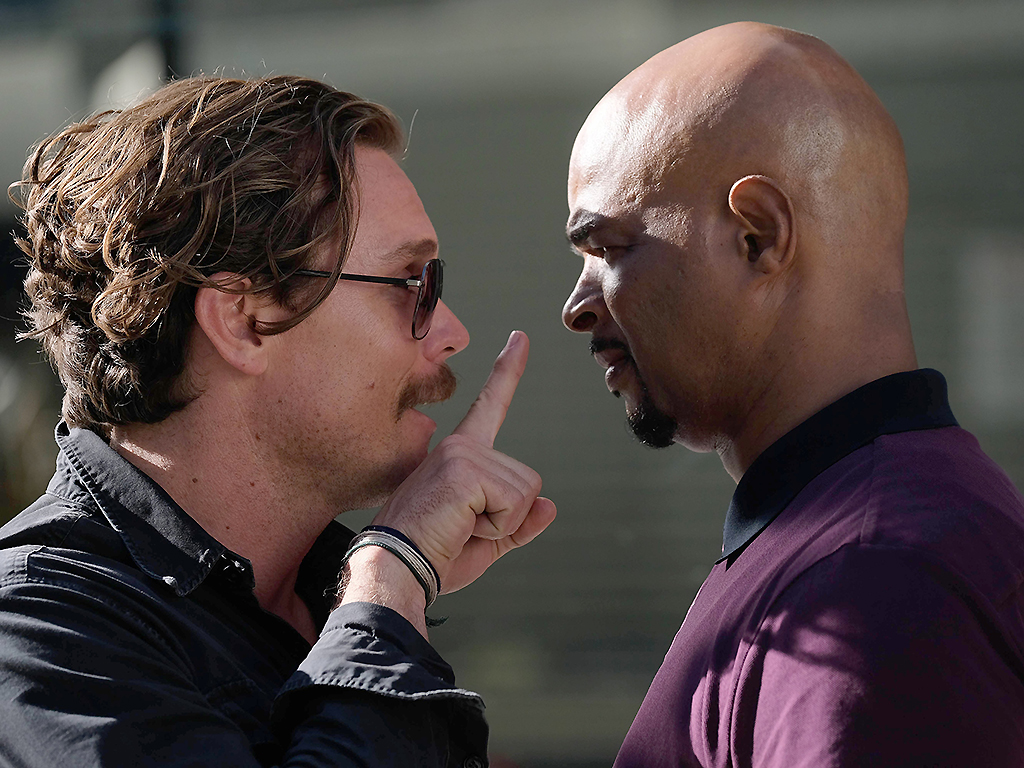Clayne Crawford and Damon Wayans star in the Season 2 premiere episode of 'Lethal Weapon.'.