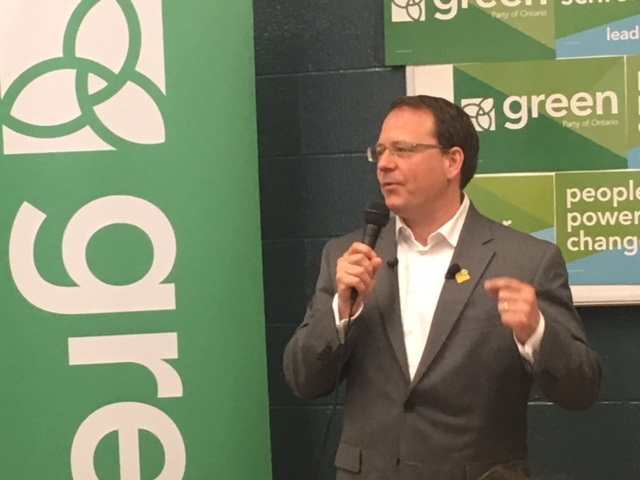 Ontario Green Party leader Mike Schreiner appears in a file photo.