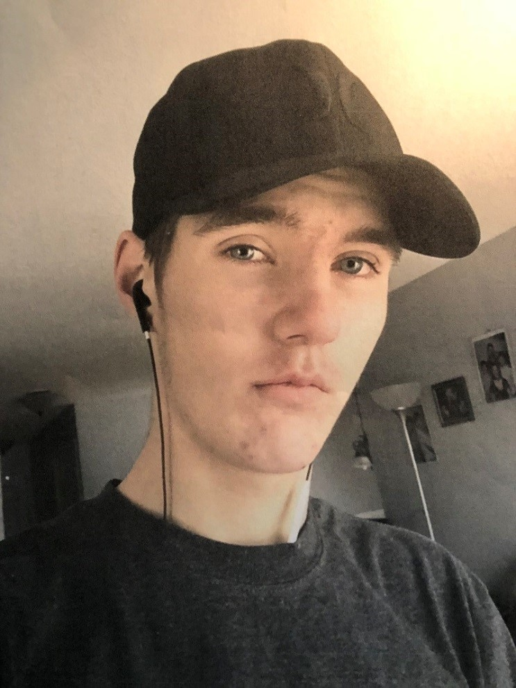 Kingston Police have released a photo of Mathew Brayden, 17, who went missing on May 22, in hopes of finding him.