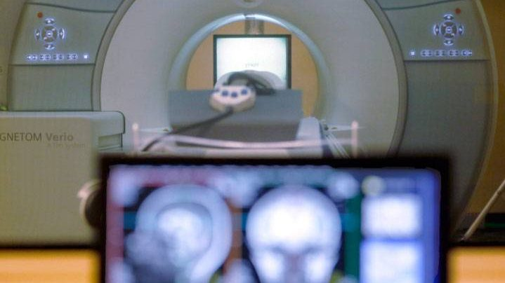 A brain-scanning MRI is shown above in this file photo. The Saskatchewan NDP is pushing to end the privatization of MRIs in the province and have recently turned the topic into a campaign promise.