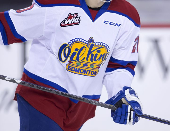 FILE: Edmonton Oil Kings WHL player profile photo.
