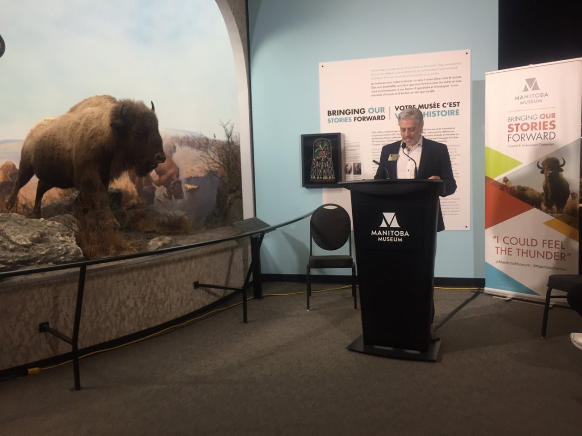 The Manitoba Museum announced it's receiving up to $5 million from the provincial government.