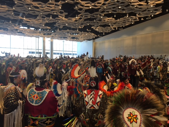 The International Pow Wow was the second last event of the week.