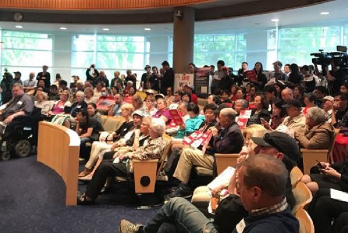 Big turnout for public meeting on housing project for the homeless in Richmond - image