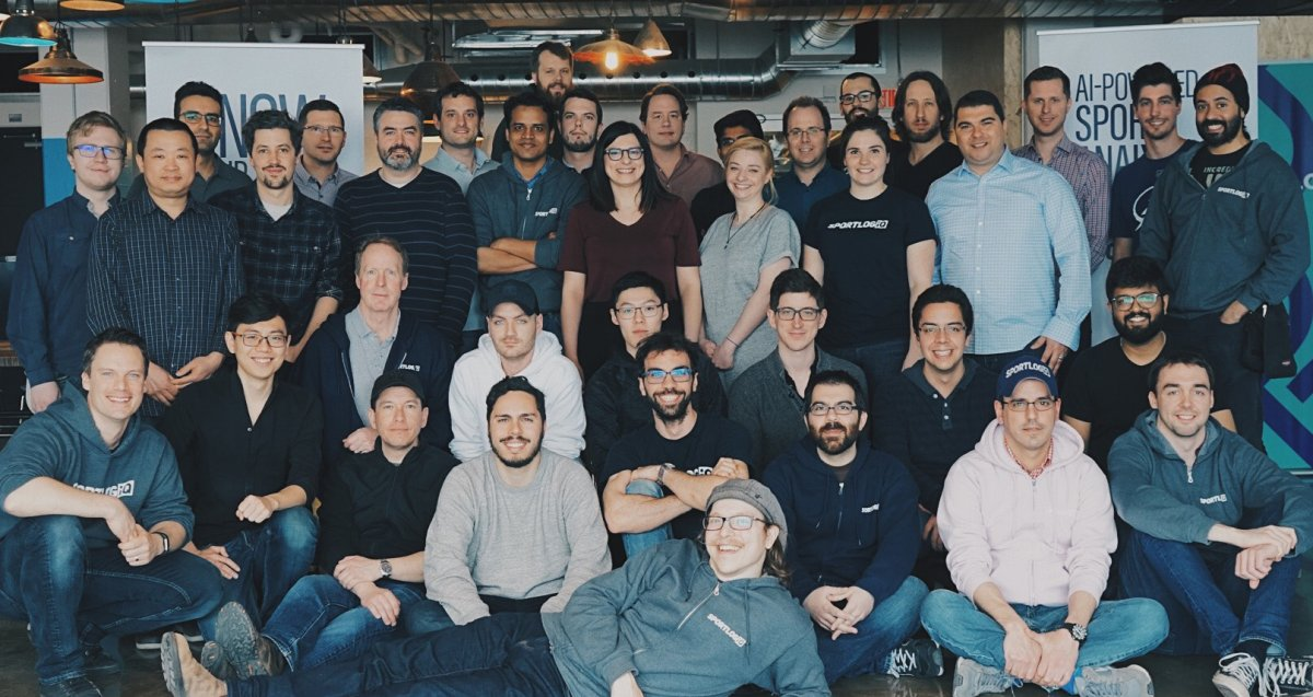 Sportslogic has more than 40 employees in Montreal.