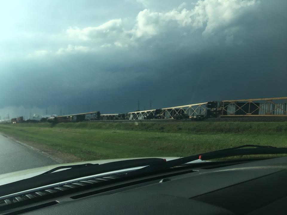 CPR train derailment near Rosser, Manitoba.