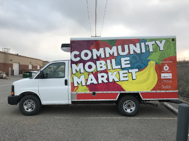 The Community Mobile Market will take to Calgary streets starting Tuesday.
