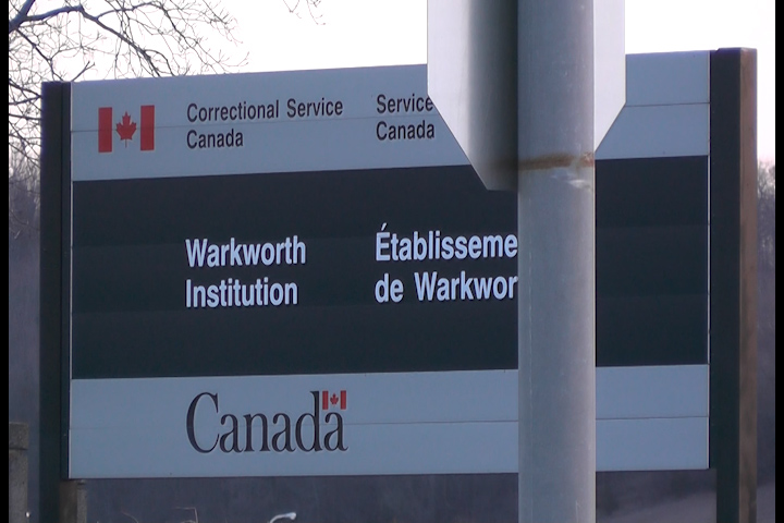 A lockdown is in place at Warkworth Institution after contraband was found on Saturday.