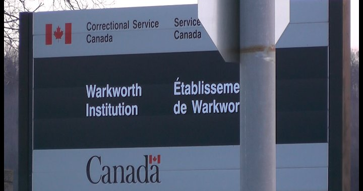 Package containing contraband tobacco, marijuana, shatter seized at Warkworth Institution