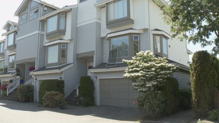 A toddler fell from a third-floor window in Richmond.
