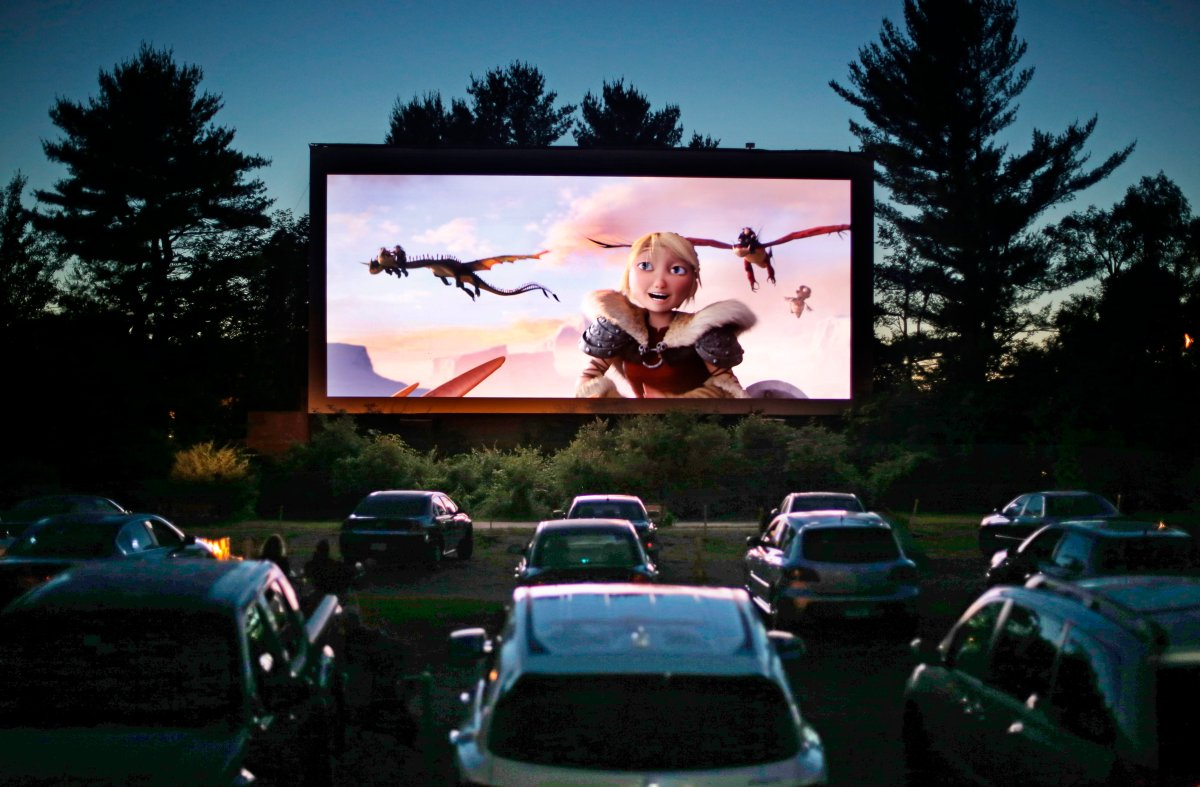 If you're planning on hitting the road this summer, stopping at one of the many Ontario drive-in theatres still operating is a great way to get the nostalgia flowing. (File photo).
