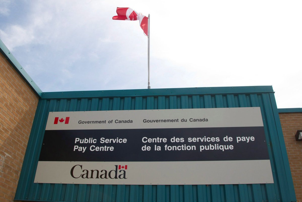 The Public Service Pay Centre is shown in Miramichi, N.B., on Wednesday, July 27, 2016.