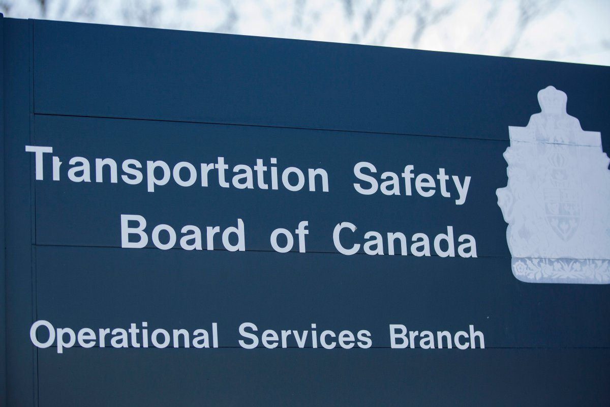 Transportation Safety Board of Canada at Ottawa airport in Ottawa, Ontario on Sunday, March 11, 2018.