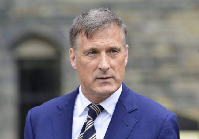 Maxime Bernier, leader of the People's Party of Canada, has lost five members in Winnipeg amid allegations that the party harbours racists and anti-Semites.