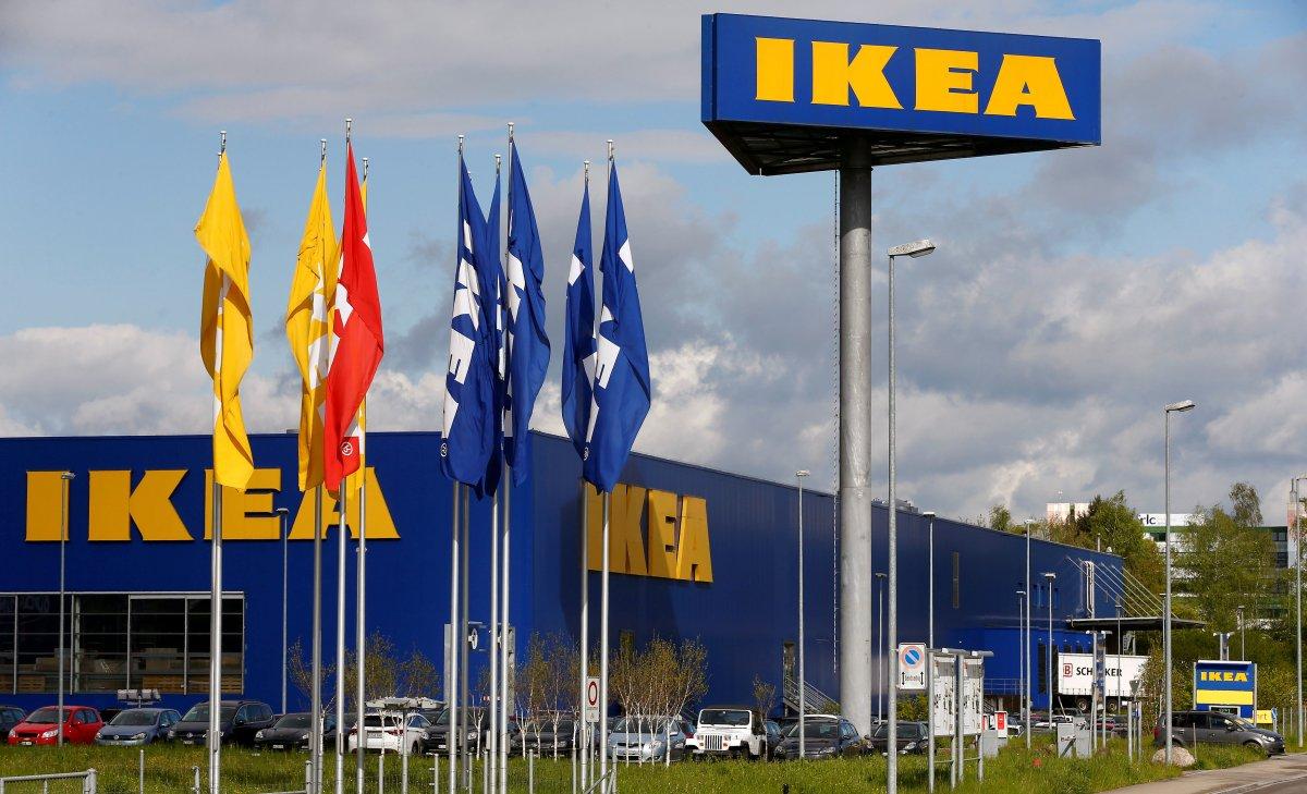 FILE: Ikea's logo is seen outside of an IKEA Group store in Spreitenbach, Switzerland April 27, 2016.