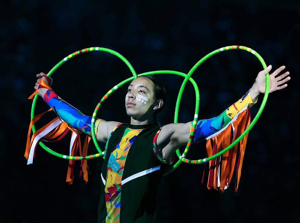 """Teen World Hoop Dance Champion Ascension Harjo """"Hoop Dancer"""" will perform at this year's First Nations, Inuit and Metis Community Celebration in Guelph."""