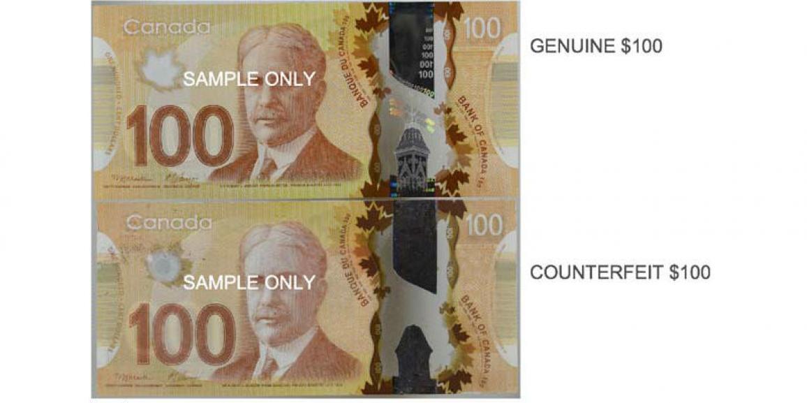 Hamilton police warning of fake money circulating in the city.