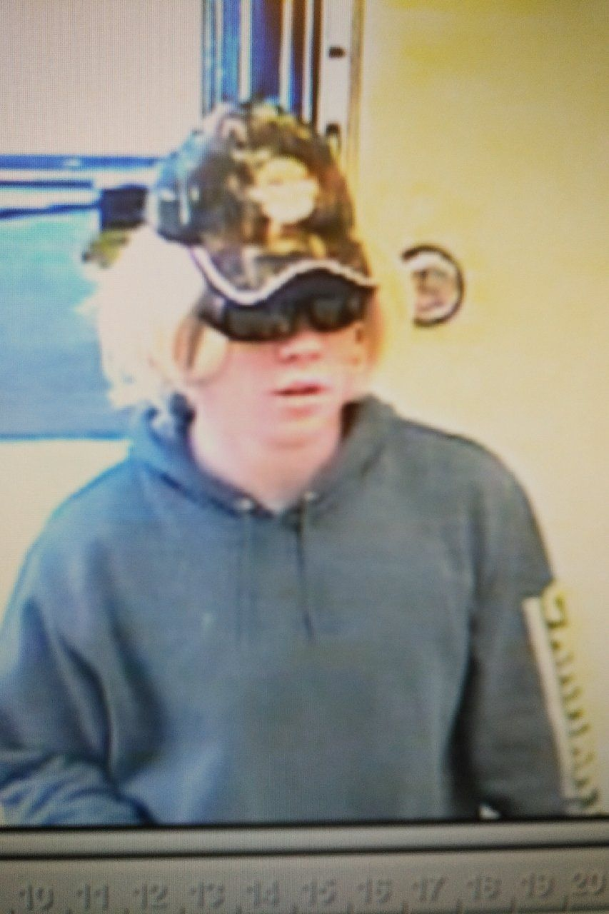 RCMP are searching for a suspect in a Wabamun, Alta., bank robbery, Friday, June 8, 2018.