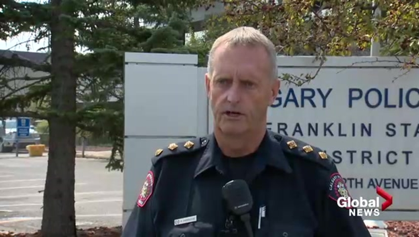 Global News has confirmed the identity of Staff Sgt. Rod Harbidge, a 37-year member of the Calgary Police Service, charged with impaired driving.
