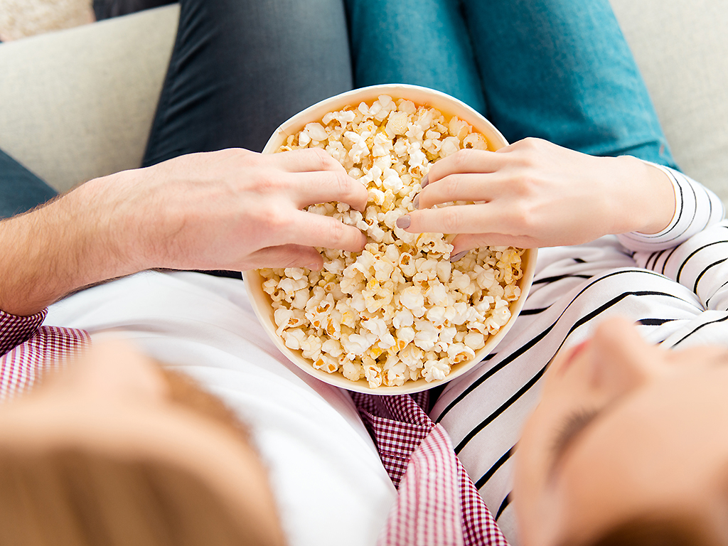 Enjoy theatre popcorn (and more) at home thanks to Cineplex and Uber Eats.
