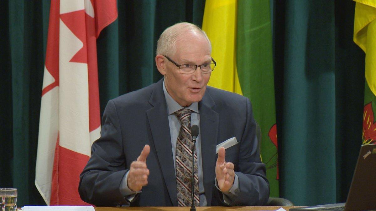 Saskatchewan's Chief Coroner Clive Weighill.