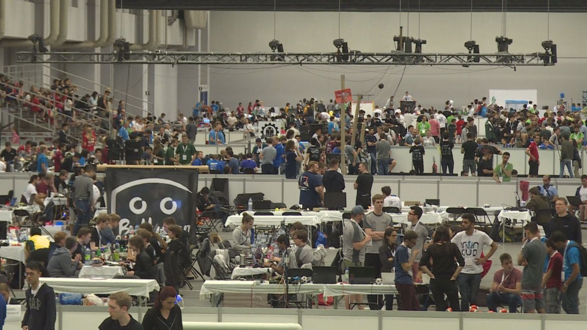 The 2018 RoboCup in Montreal. June 18, 2018.