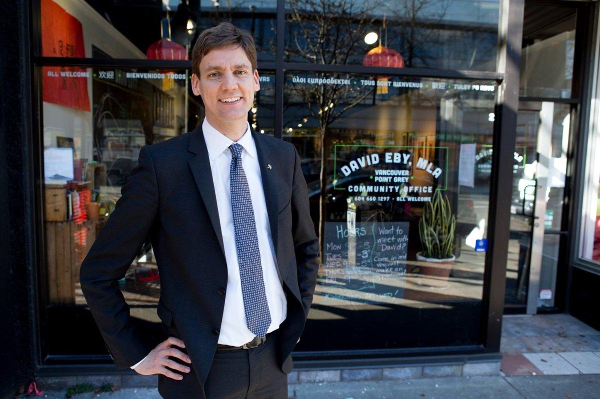 B.C. Attorney General David Eby.