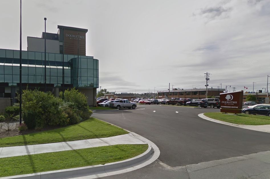 Halifax Regional Police are investigating a robbery at the Doubletree Hotel in Dartmouth on Tuesday morning.