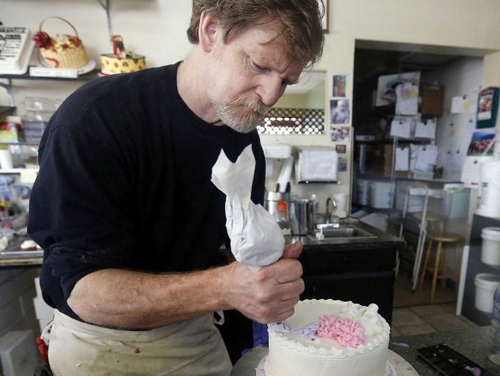 Masterpiece Cakeshop owner Jack Phillips is seen in this 2014 file photo.