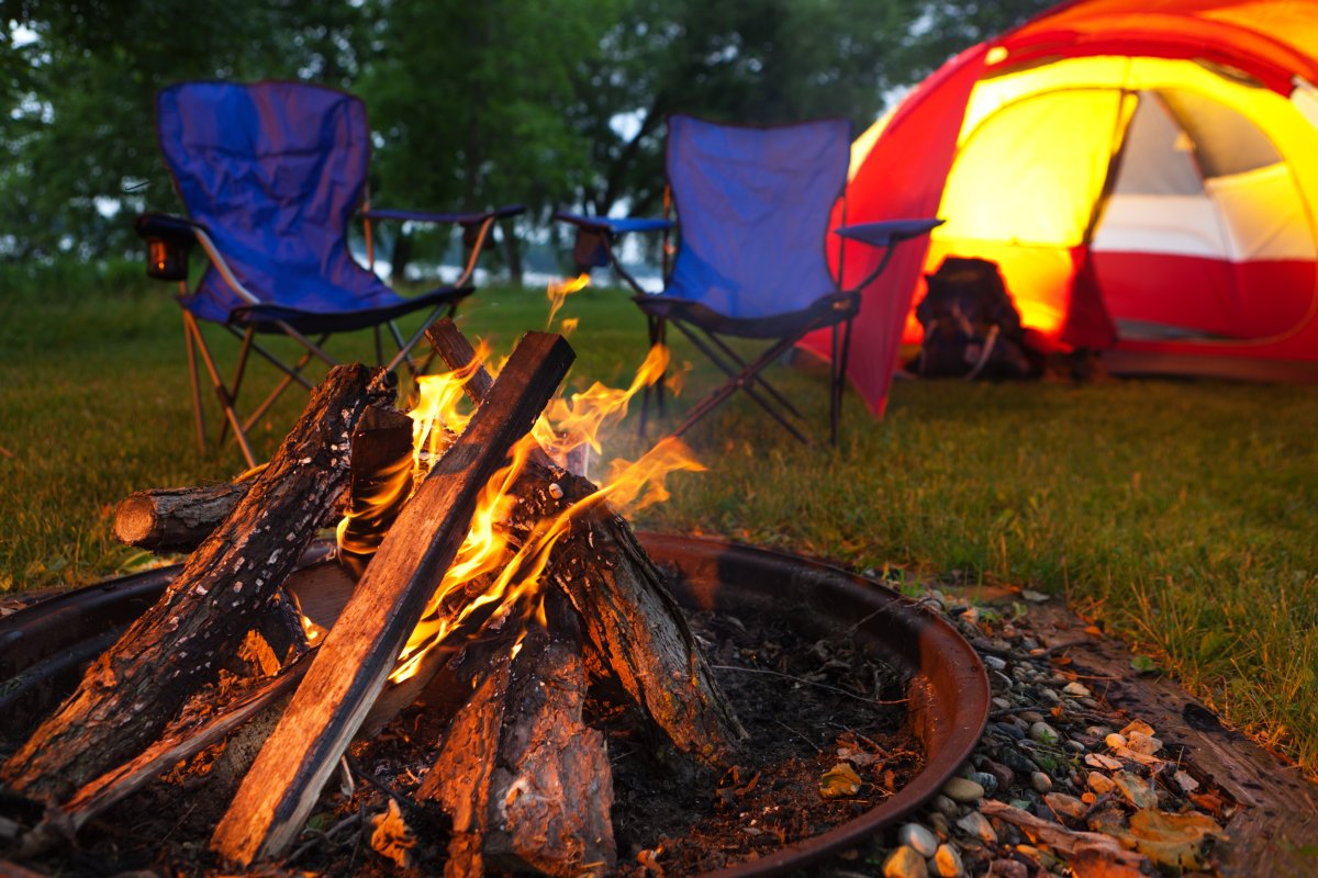 While there are no campfire bans in place at this time, B.C. residents are still urged to use caution when camping as the fire danger rating could increase.