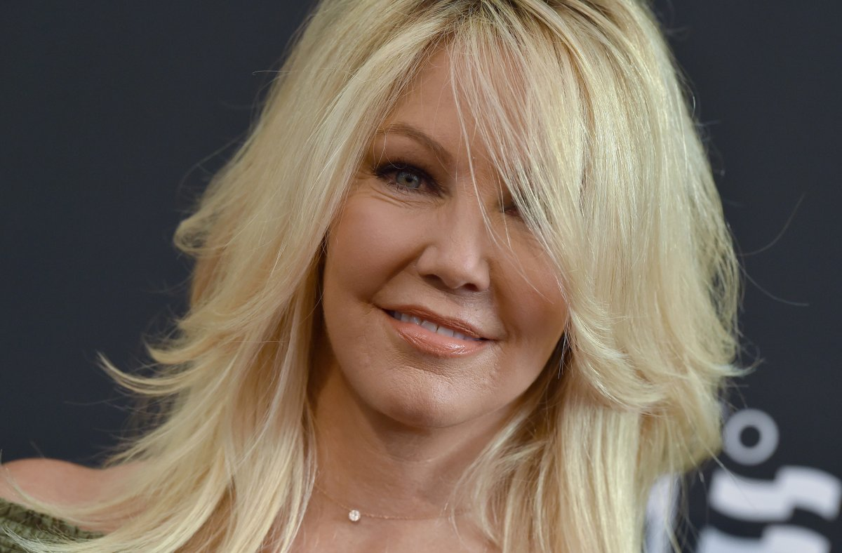 Actress Heather Locklear in 2016 in Beverly Hills, California.