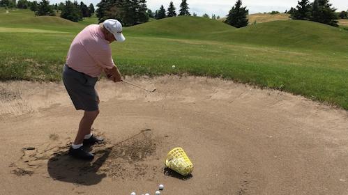 Gordon Crossman, 75, brings 48 years of teaching experience to Heron Landing Golf Club in Cavan Monaghan Township.