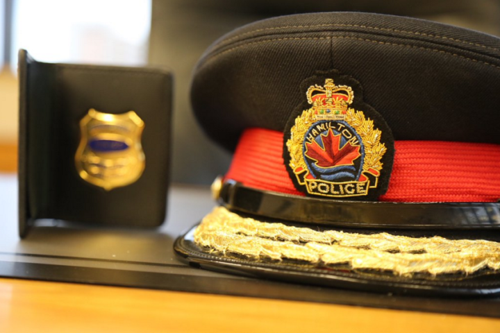 Hamilton police arrested a 50-year-old woman on Monday night after she allegedly refused to identify herself to officers.