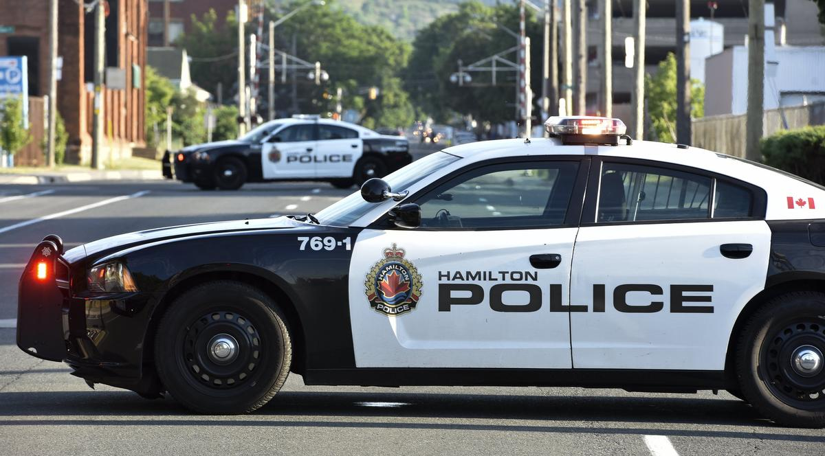 The driver of a ridesharing service told Hamilton police the alleged shooting occurred while he was picking up patrons on Main Street West and Paradise Road.