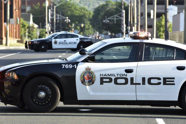 Hamilton police said a fire that broke out on Jan. 10 on Gibson Street was arson.