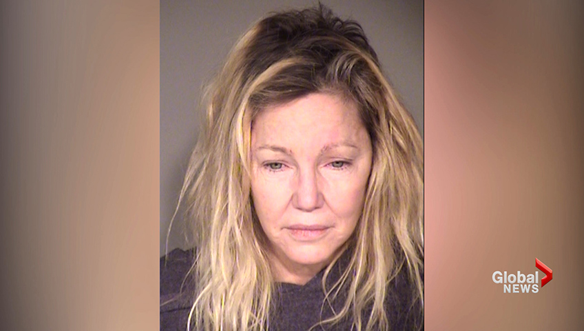 Heather Locklear appears in her mugshot, via the Ventura County Jail.