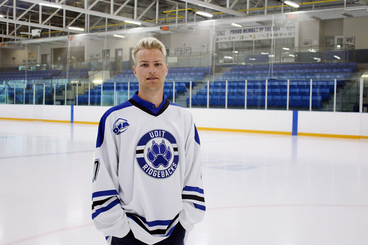 Another Humboldt Broncos player has signed with the hockey team at an Ontario post-secondary institution. Bryce Fiske, a 20-year old defenceman from La Ronge, Sask., shown in a handout photo, has committed to play hockey for the Ridgebacks at the University of Ontario Institute of Technology this September.