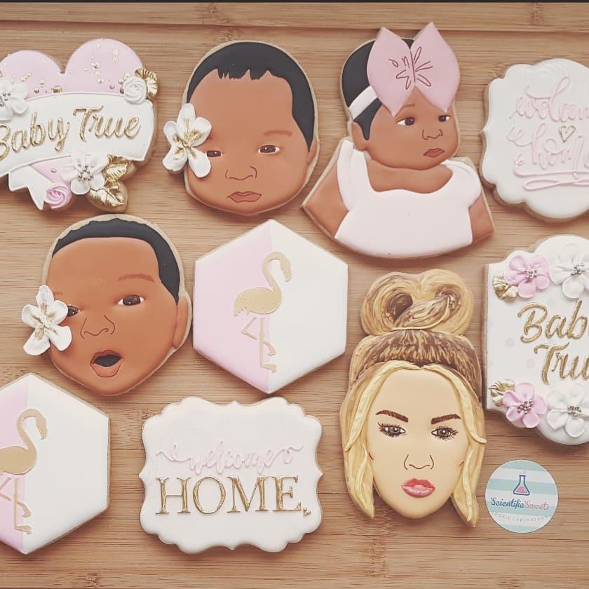 Khloe Kardashian made a custom cookie order from Winnipeg's Scientific Sweets.
