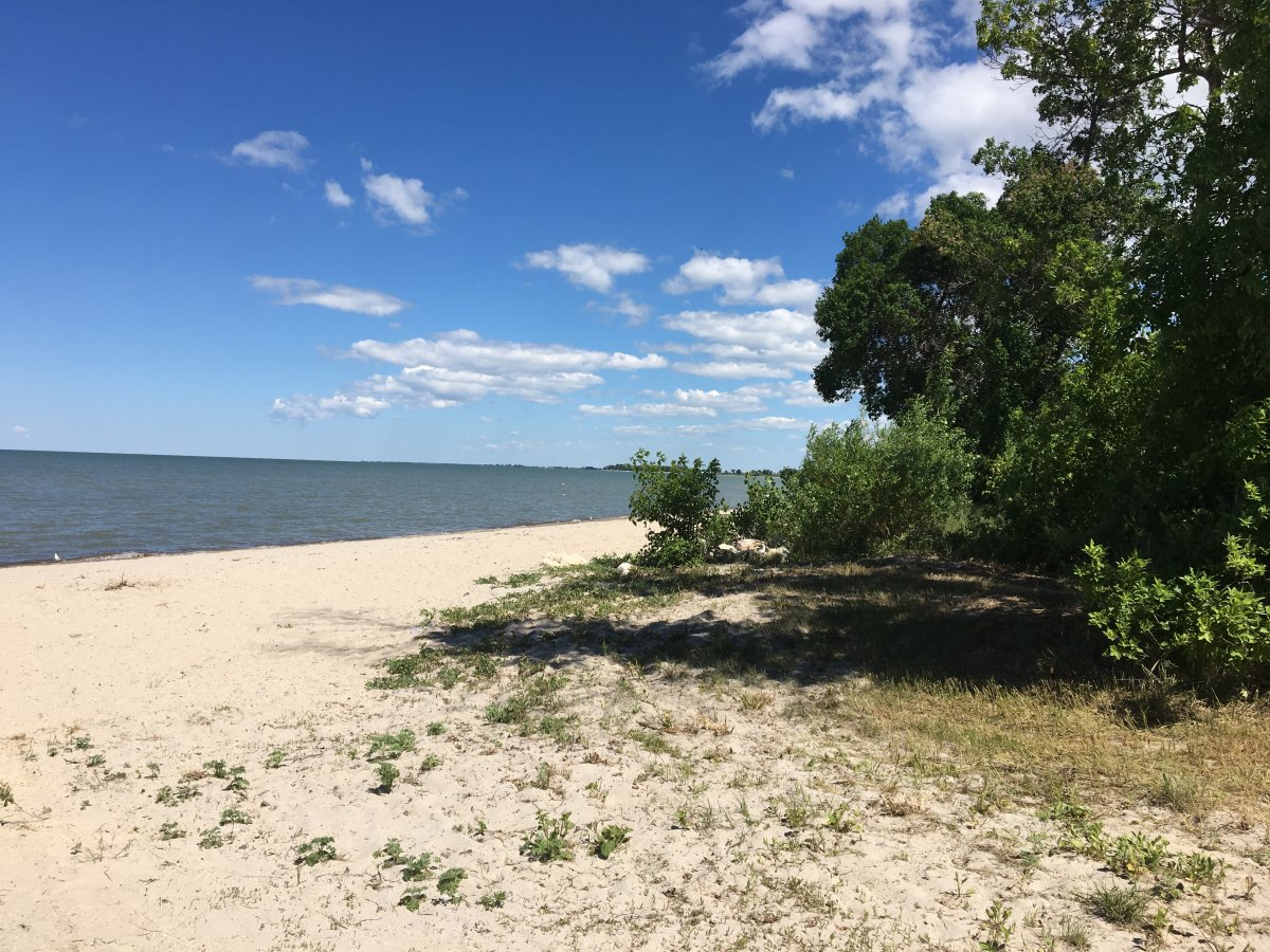 Along the shore of Lake Manitoba, near St. Laurent, government announced a cost-sharing project aimed at ending seasonal flooding.